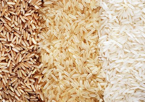 روش پخت برنج قهوه اي