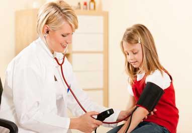 فشار خون کودکان باید چند باشد