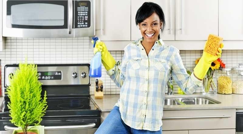 تمیز کردن ایمن در دوران بارداری
