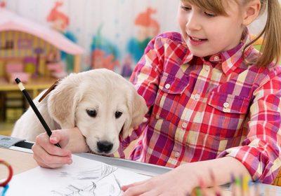 راهنمای مرحله به مرحله چگونگی ترسیم سگ برای کودک