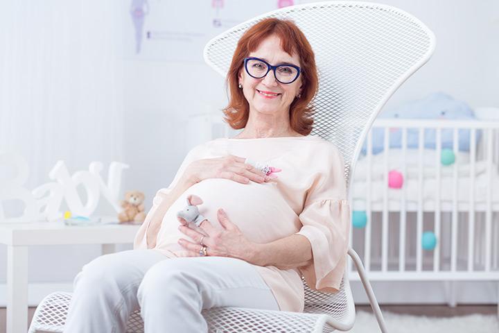 خطرات بارداری در سن بالا