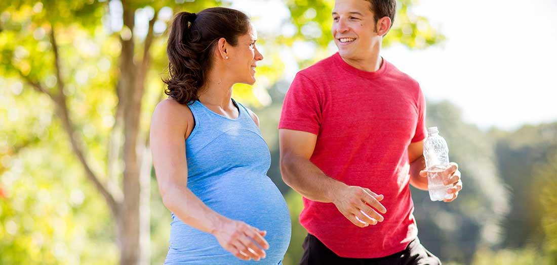 توصیه های کلی برای پیاده روی در دوران بارداری