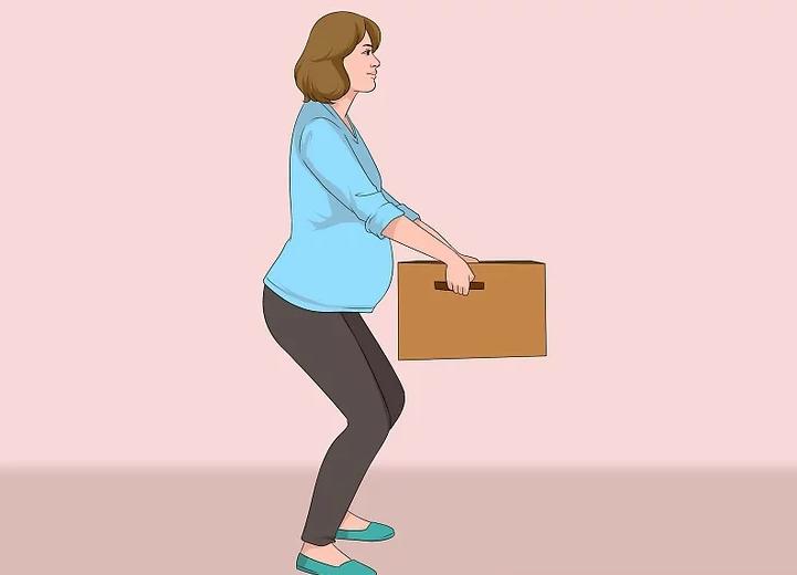 زن باردار تا چند کیلو میتواند بلند کند