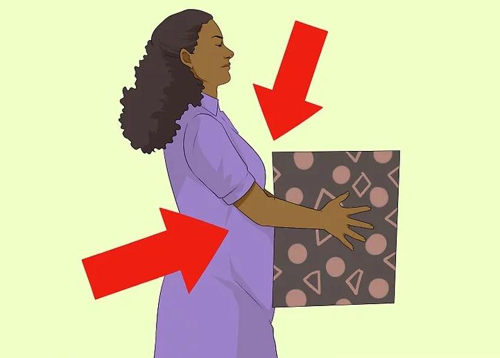 برداشتن وسایل سنگین در بارداری
