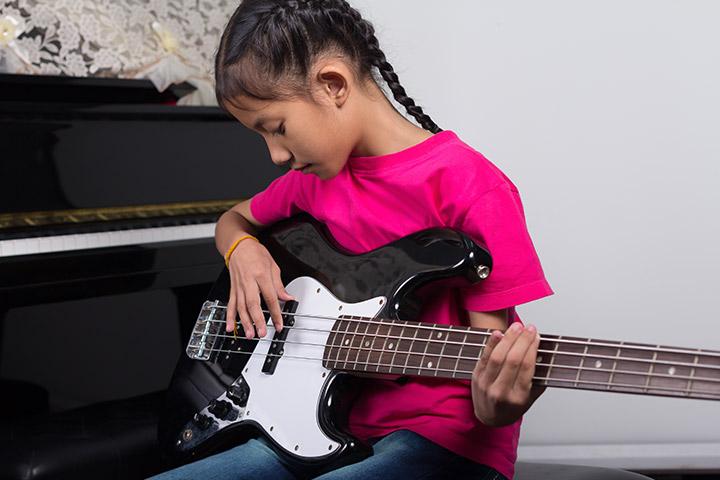 آموزش گیتار بیس برای کودکان