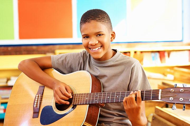 گیتار برای کودکان