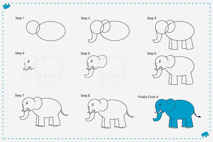 فیل کارتونی