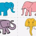 """چگونه در چند مرحله ساده و آسان برای کودکان """"فیل"""" بکشیم؛ آموزش کشیدن 4 نوع فیل زیبا و قشنگ"""