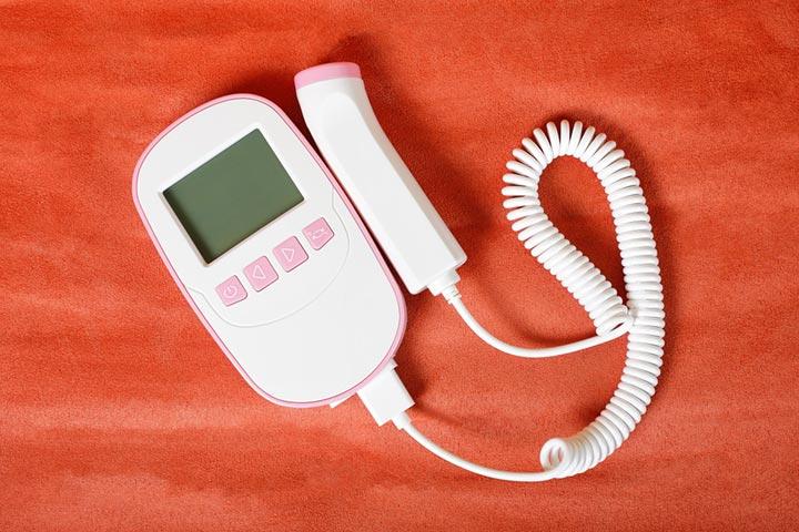 دستگاه شنیدن صدای قلب جنین در خانه