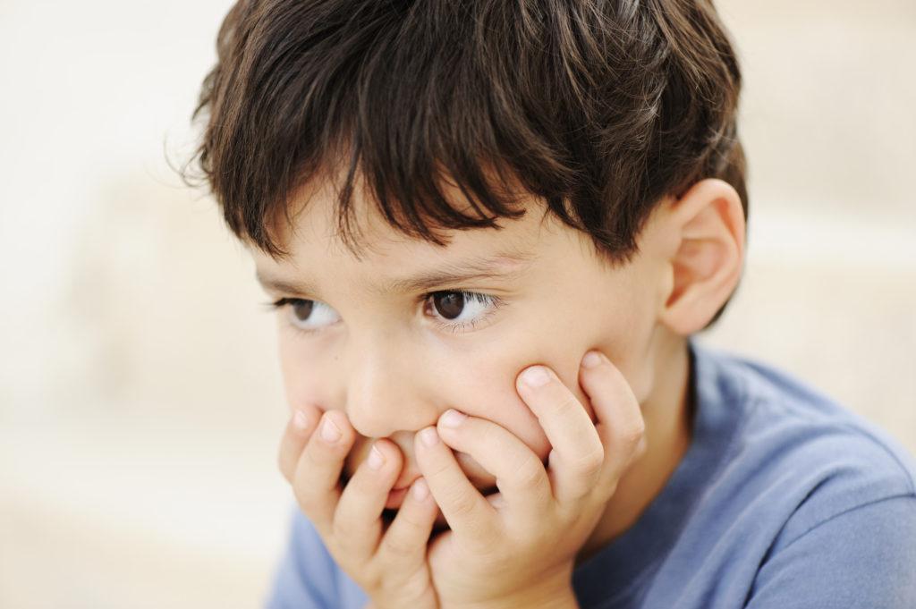 دلایل بروز استرس در کودکان