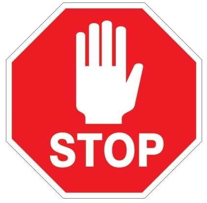 برای مهار عصبانیت، یک علامت توقف (ایست) را تصور کنید