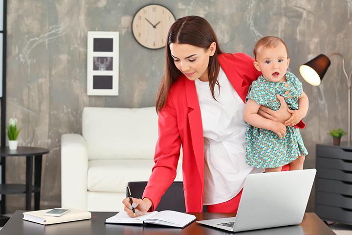 کار در منزل با وجود کودکان در دوران قرنطینه