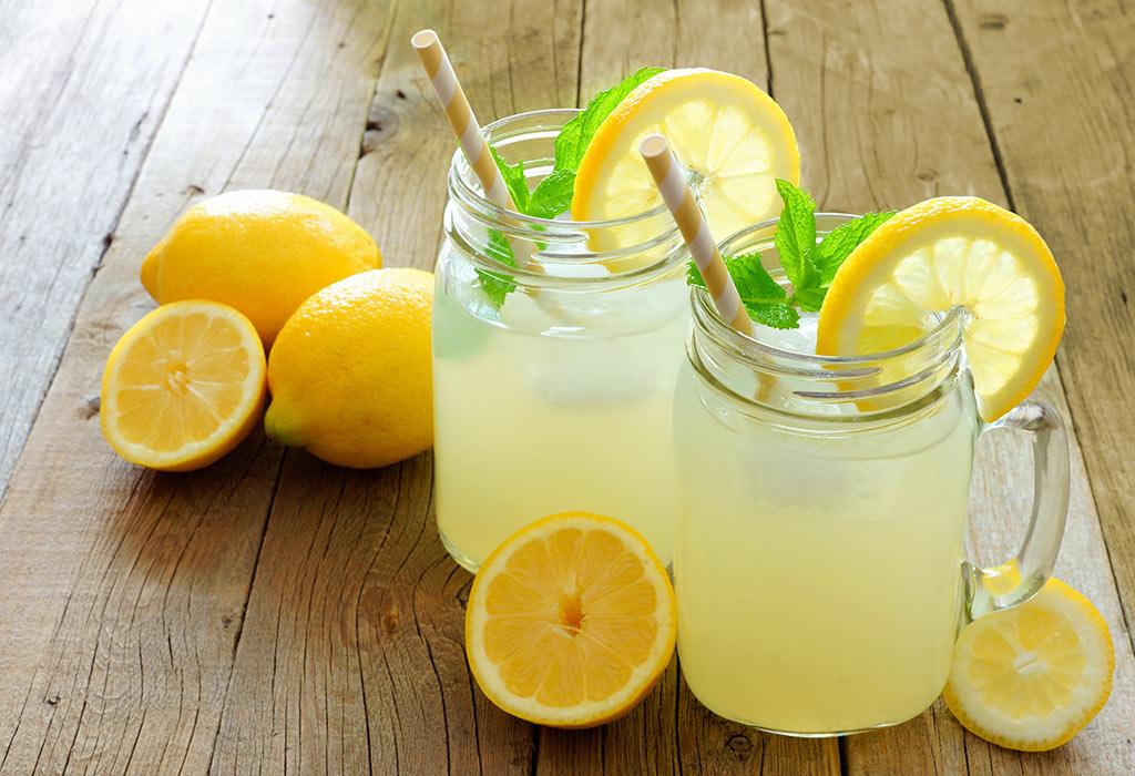 احتیاط در مصرف آب لیمو در زمان شیر دهی