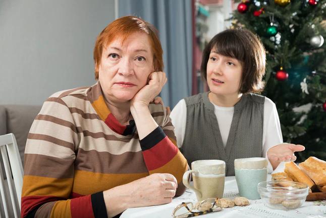 شما هنگام صحبت، وقت گذراندن یا فکر کردن درباره والدینتان احساس بدی دارید