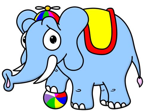 راهنمایی نحوه کشیدن فیل کارتونی برای کودکان