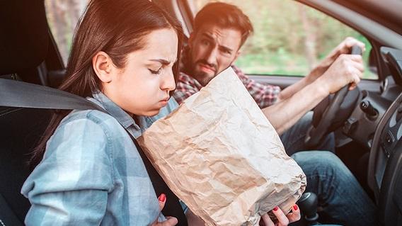 علائم بیماری حرکتی (بیماری مسافرت) در دوران بارداری
