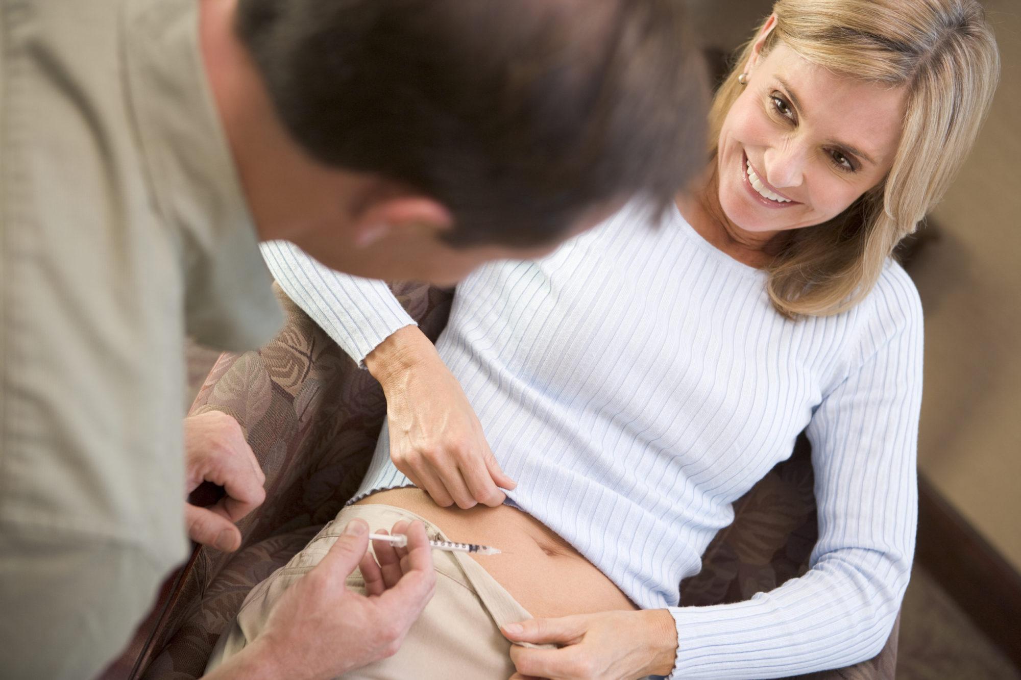 چرا HCG در زمان بارداری تزریق می شود؟