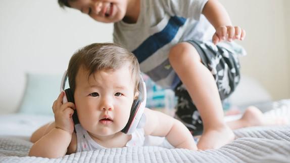 راهنمای شنوایی کودک نوپا