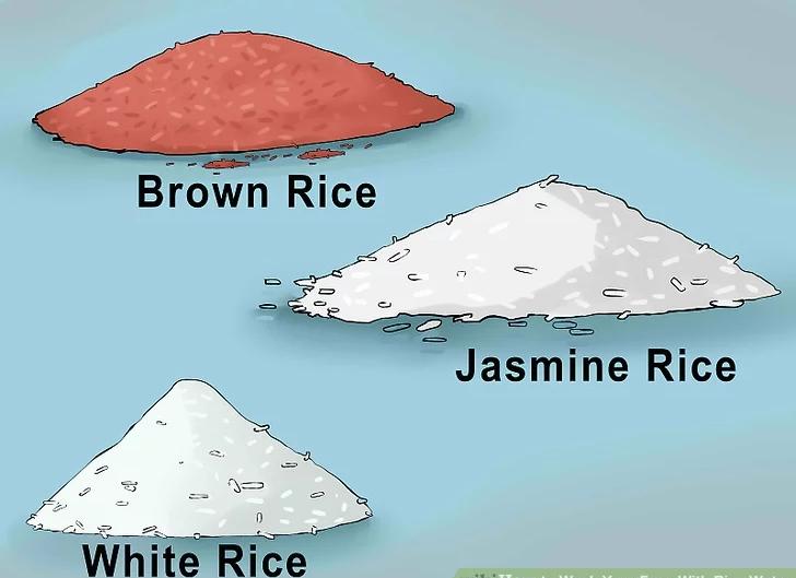 آماده سازی برنج