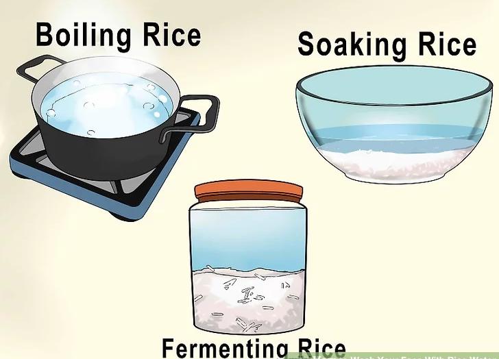 تهیه آب برنج