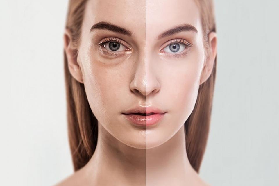 تاثیر آرایش بر گود شدن زیر چشم
