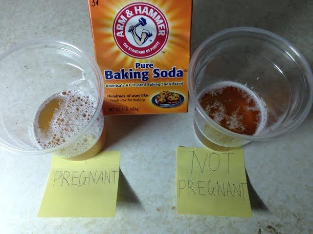 آیا آزمایش بارداری با جوش شیرین دقیق است؟