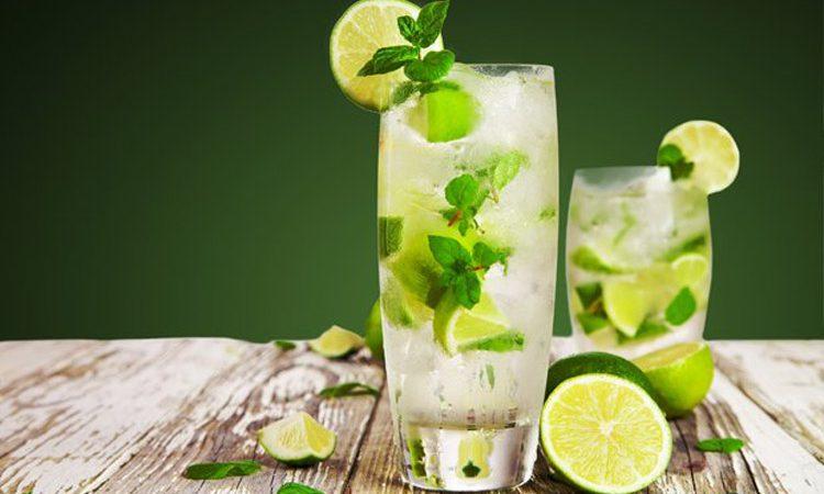 طرز تهیه نوشیدنی تابستانه با نعنا