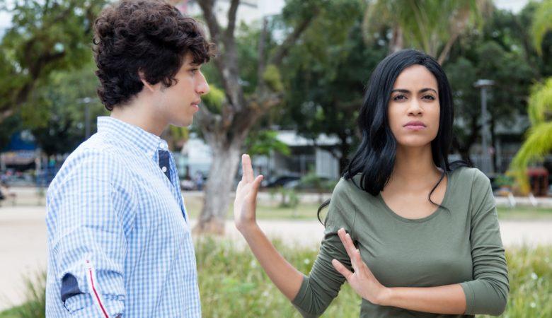 طرد شدن در یک رابطه احساسی