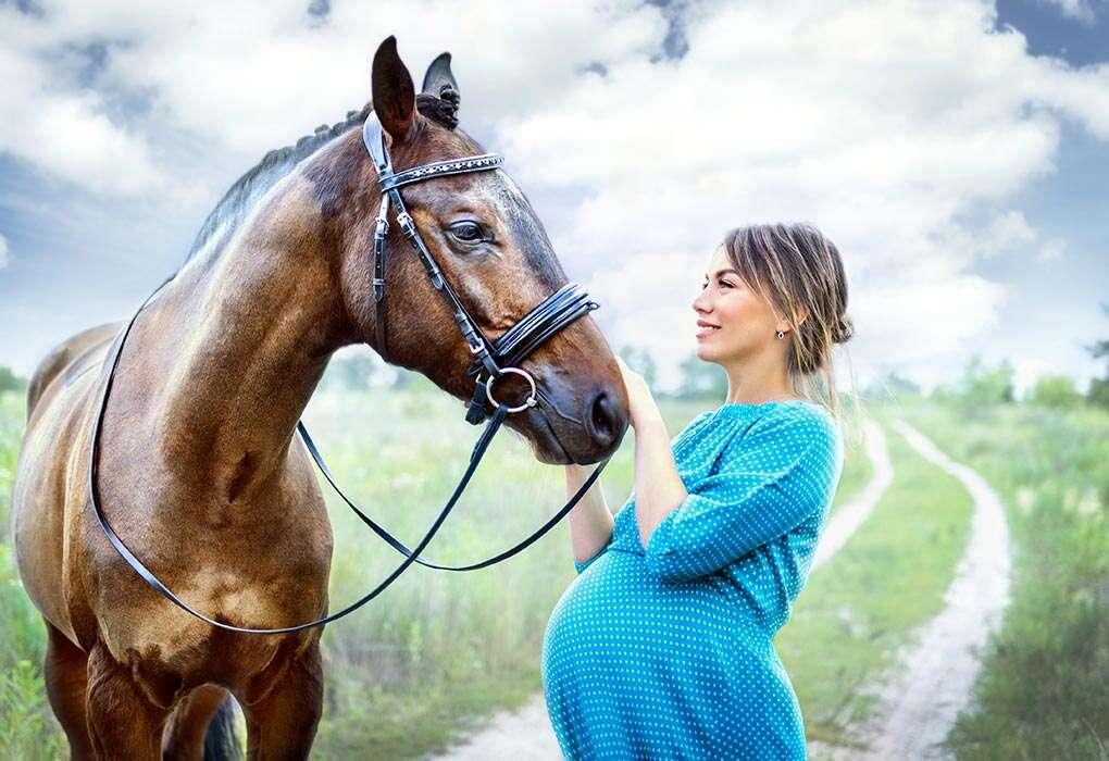 حیوانات مزرعه ای در خطرات حیوان خانگی در بارداری
