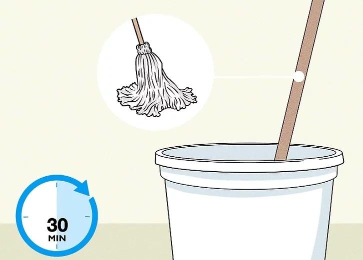 ضد عفونی کردن ابزار تمیز کردن با سفید کننده
