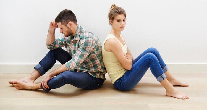 دعوای عاشقانه زن و شوهر