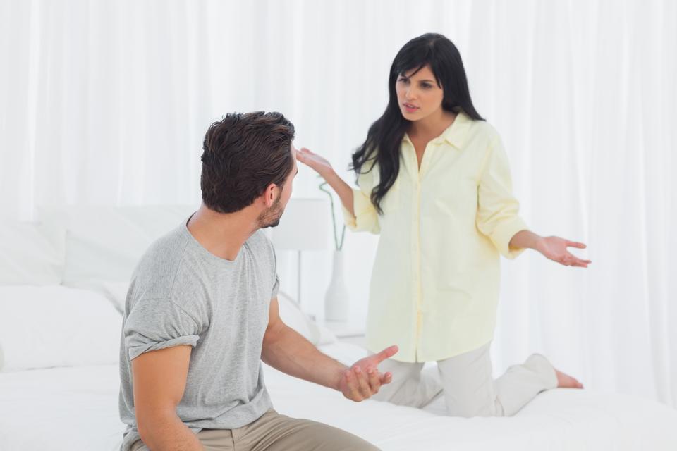 در دعوا با دوست پسر از او سوال بپرسید