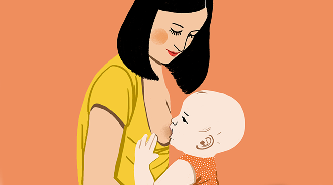وضعیت های بدنی شیردهی