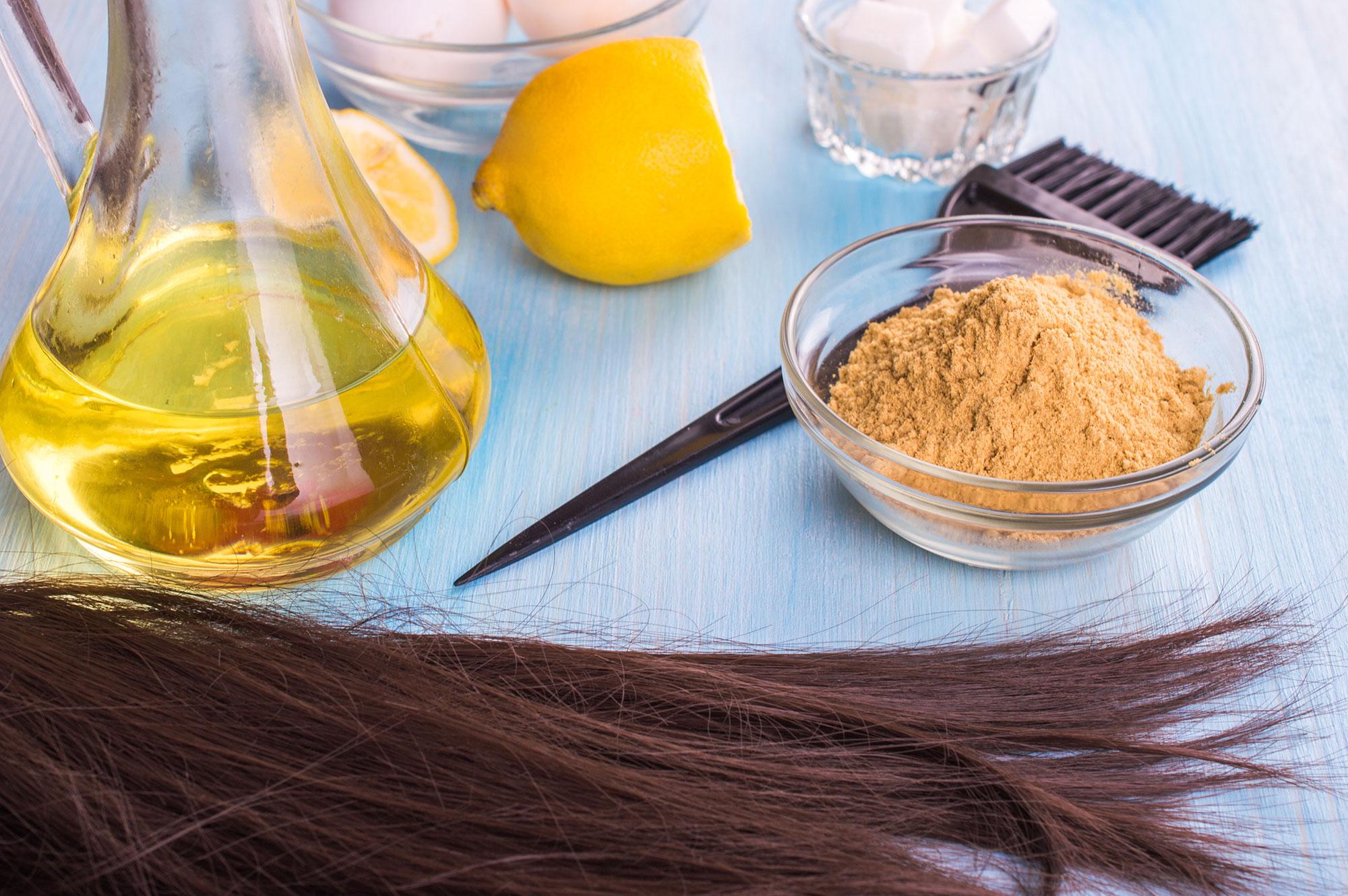 درمان خانگی ریزش موها پس از زایمان با ماسک مخمر مو
