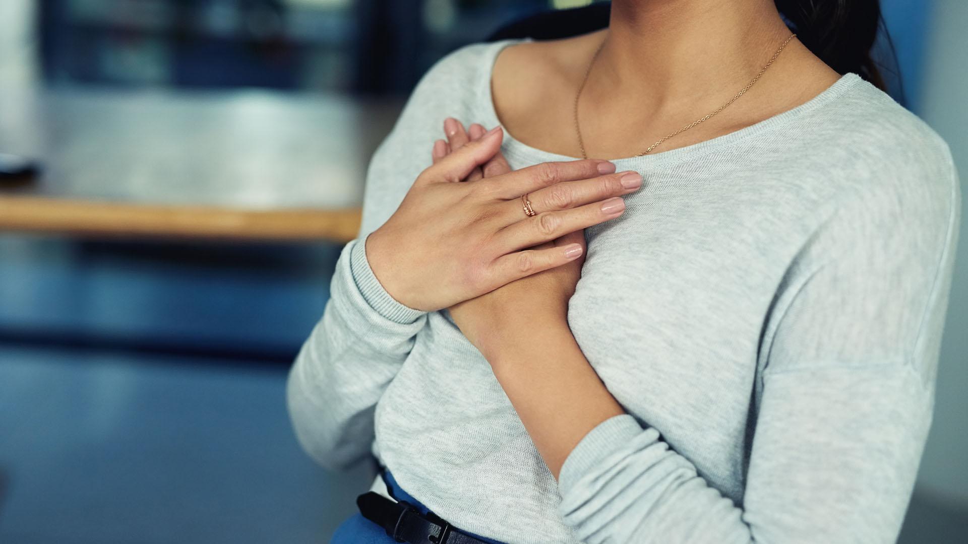 دلیل درد قفسه سینه در دوران بارداری