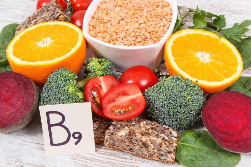 B9 (فولات) در مکمل های ویتامین ب کمپلکس