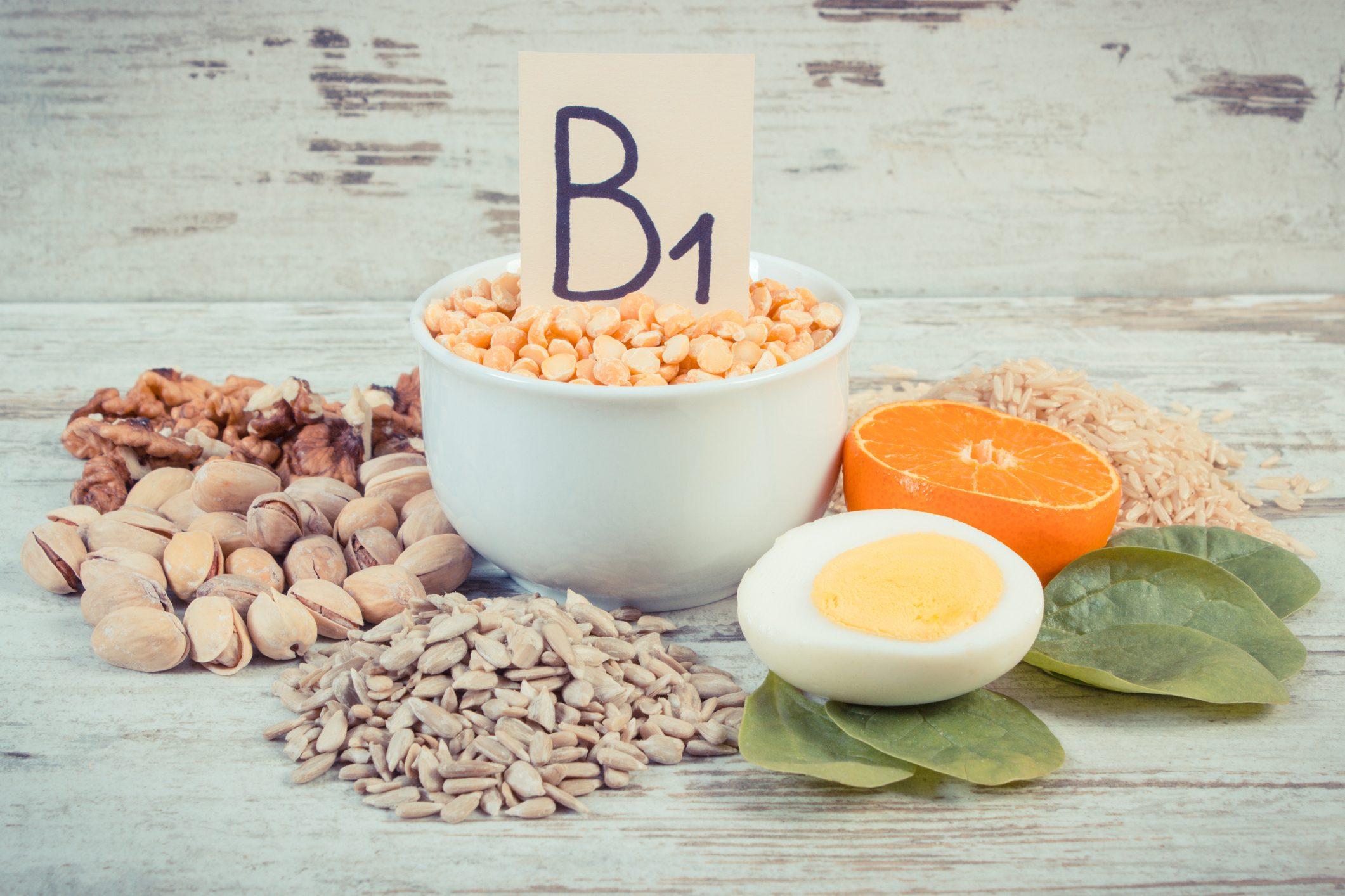 B1 (تیامین) در مکمل های ویتامین ب کمپلکس