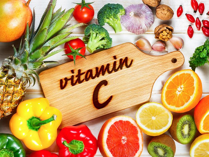 بهبود سریع زخم با ویتامین سی