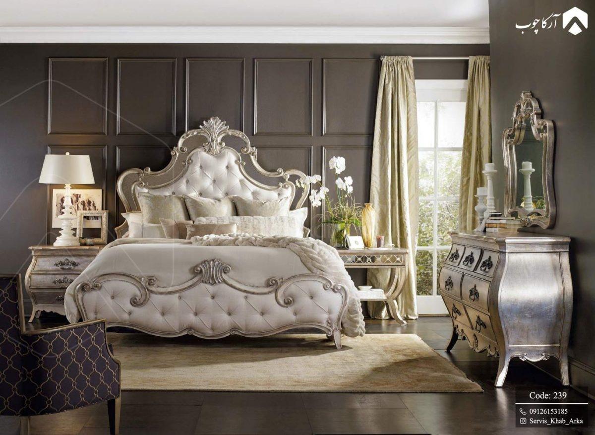 انتخاب و خرید سرویس خواب چوبی کلاسیک