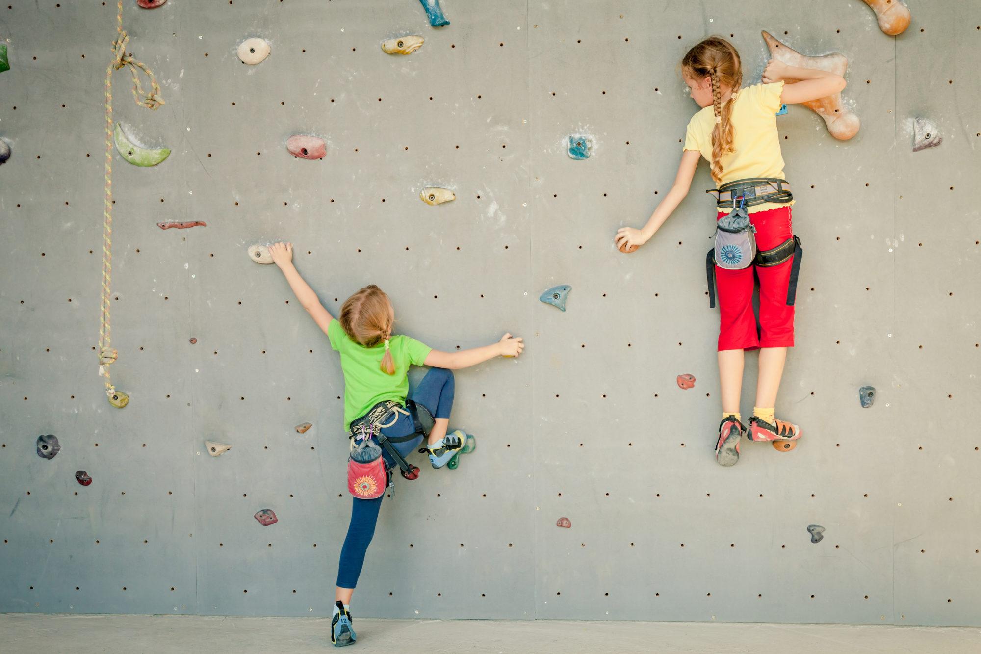صخره نوردی برای کودکان سالنی