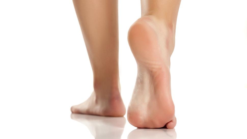 درمان فوری پاشنه خشک و ترک خورده به صورت طبیعی