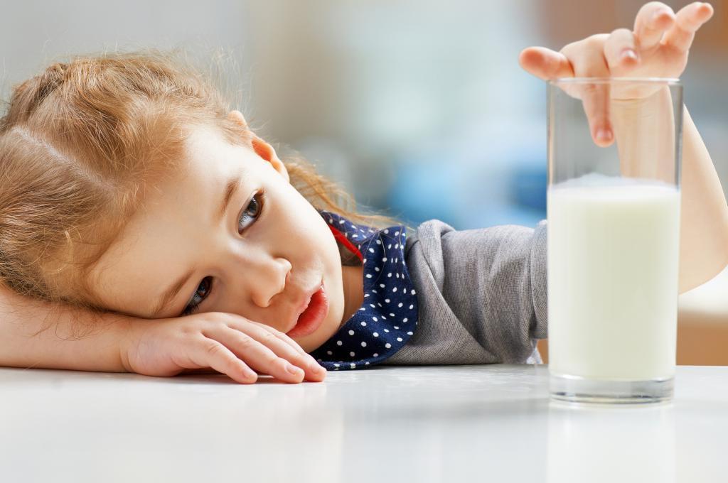 خواص شیر برای کودکان چیست