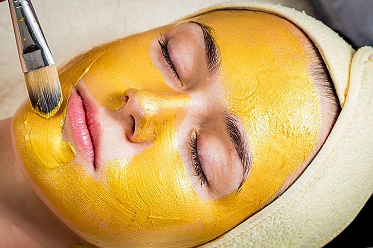 دلیل استفاده از زردچوبه برای پوست